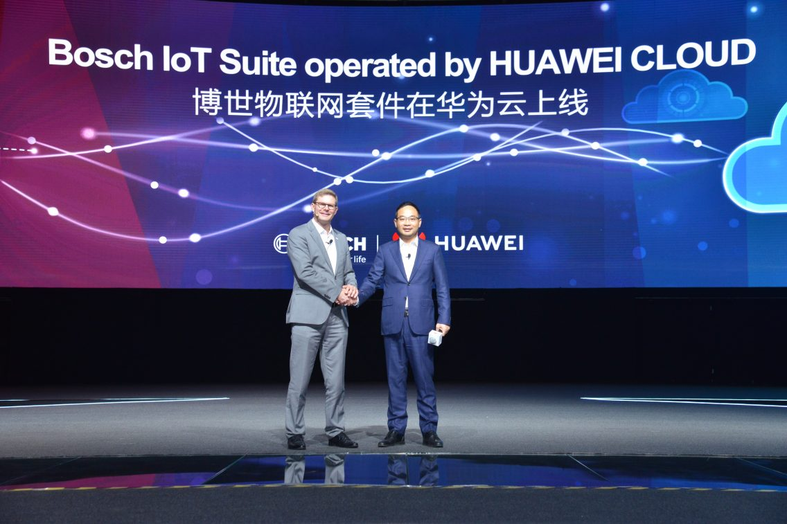 Bosch to launch IoT Suite software services in China on Huawei Cloud